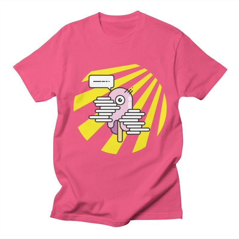 Speechless Melting Icycle Men's Regular T-Shirt by towch's Artist Shop