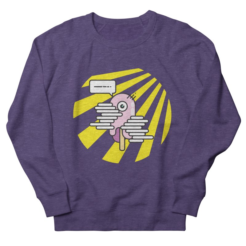 Speechless Melting Icycle Women's French Terry Sweatshirt by towch's Artist Shop