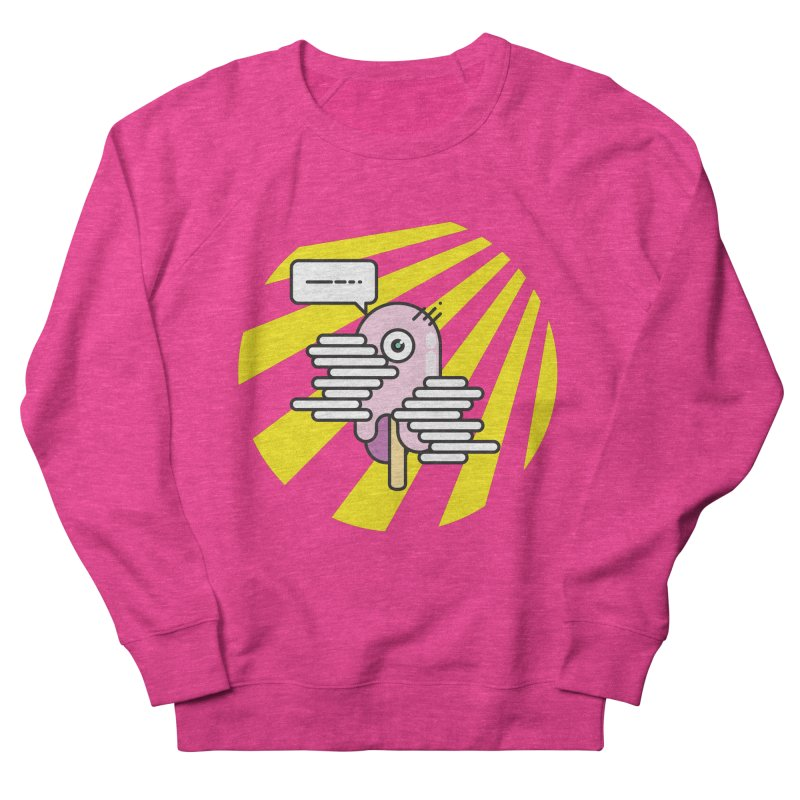 Speechless Melting Icycle Men's French Terry Sweatshirt by towch's Artist Shop
