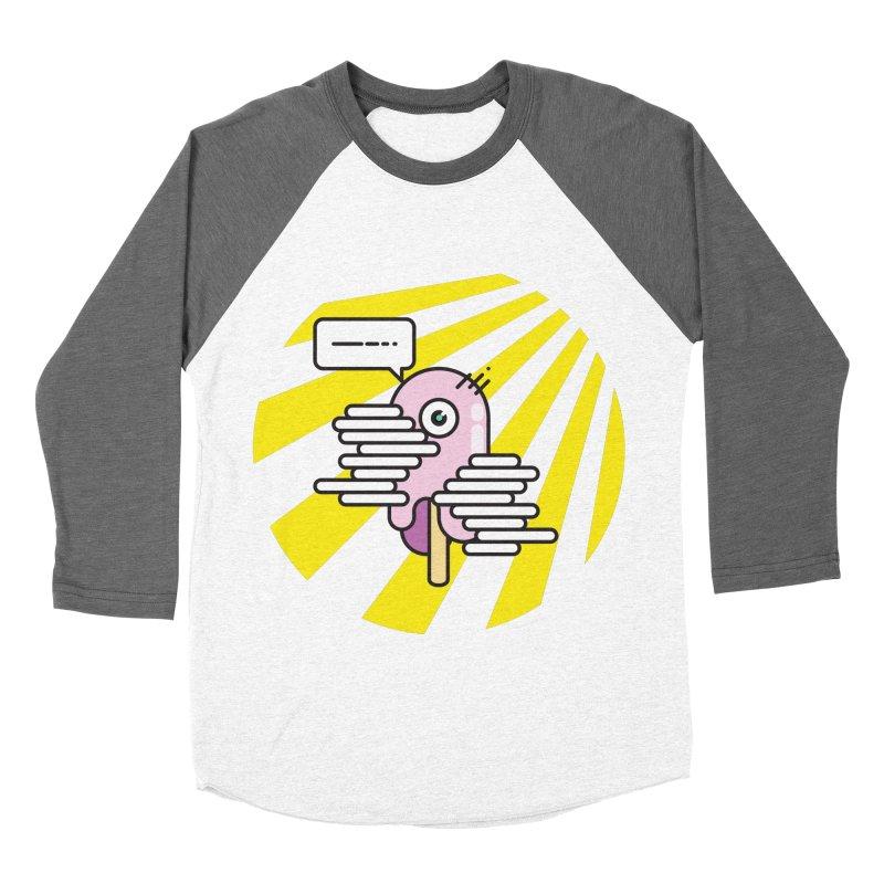 Speechless Melting Icycle Men's Baseball Triblend Longsleeve T-Shirt by towch's Artist Shop