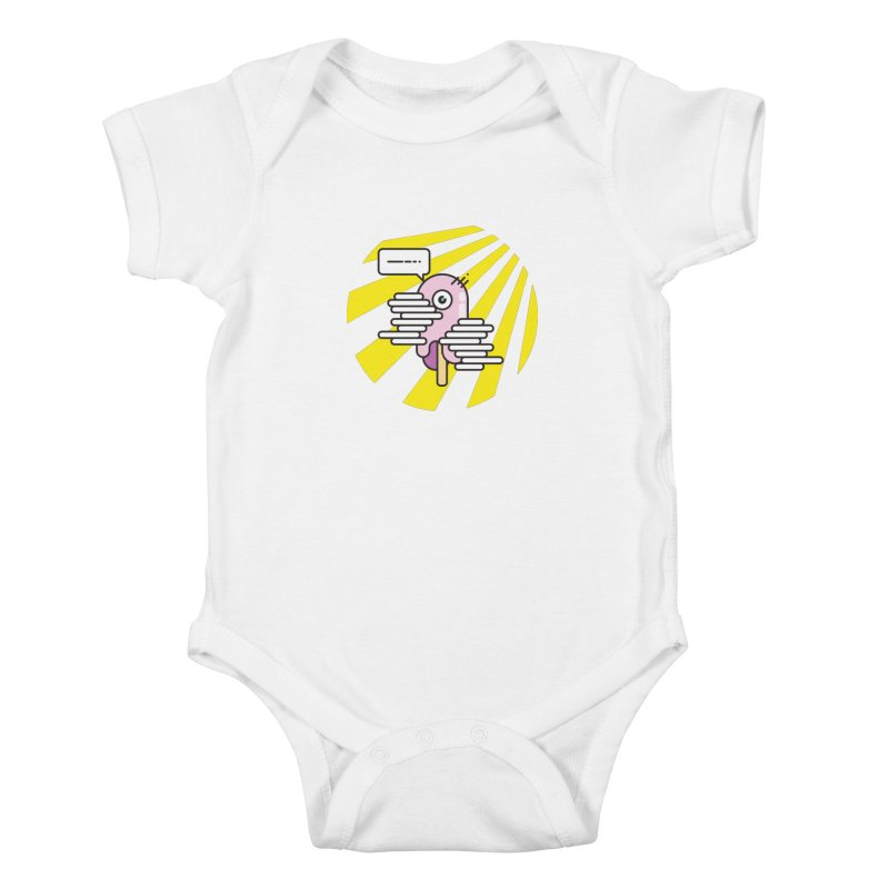 Speechless Melting Icycle Kids Baby Bodysuit by towch's Artist Shop