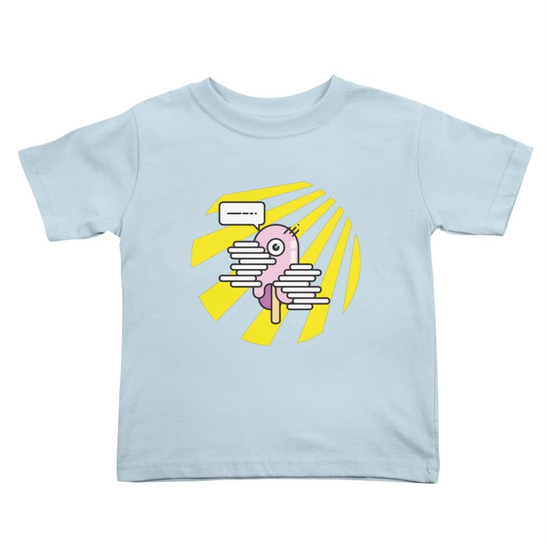 Speechless Melting Icycle Kids Toddler T-Shirt by towch's Artist Shop