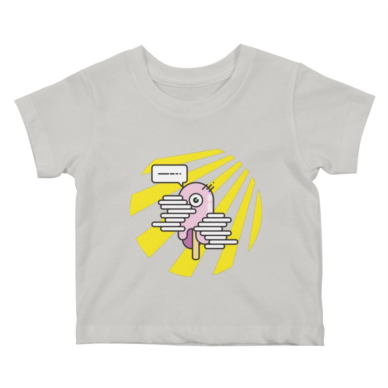 Speechless Melting Icycle Kids Baby T-Shirt by towch's Artist Shop