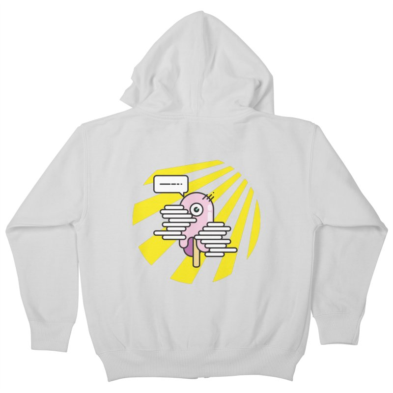 Speechless Melting Icycle Kids Zip-Up Hoody by towch's Artist Shop