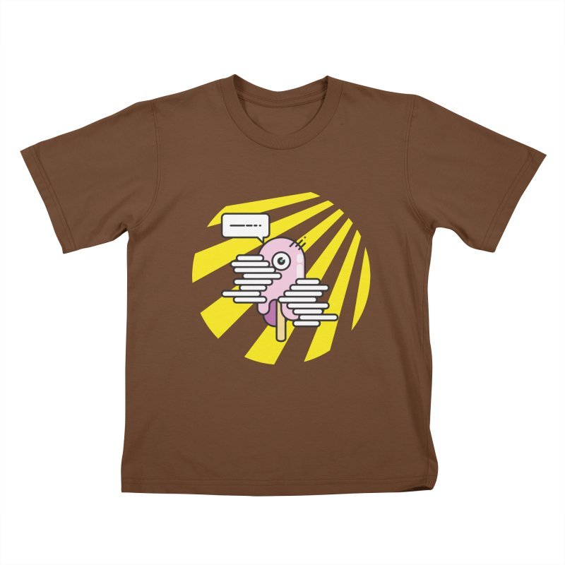 Speechless Melting Icycle Kids T-shirt by towch's Artist Shop