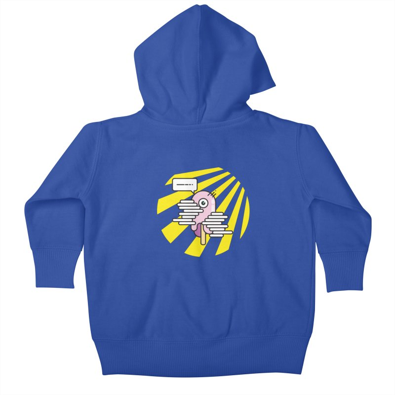 Speechless Melting Icycle Kids Baby Zip-Up Hoody by towch's Artist Shop