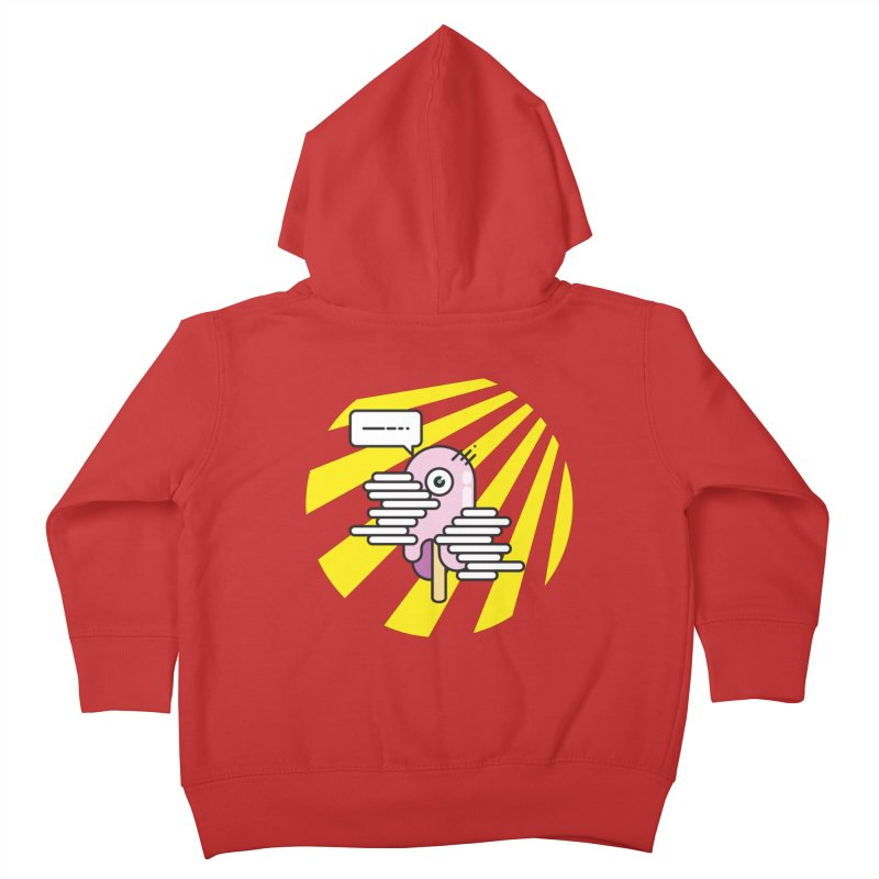 Speechless Melting Icycle Kids Toddler Zip-Up Hoody by towch's Artist Shop