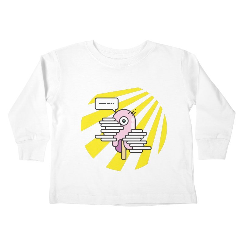 Speechless Melting Icycle Kids Toddler Longsleeve T-Shirt by towch's Artist Shop