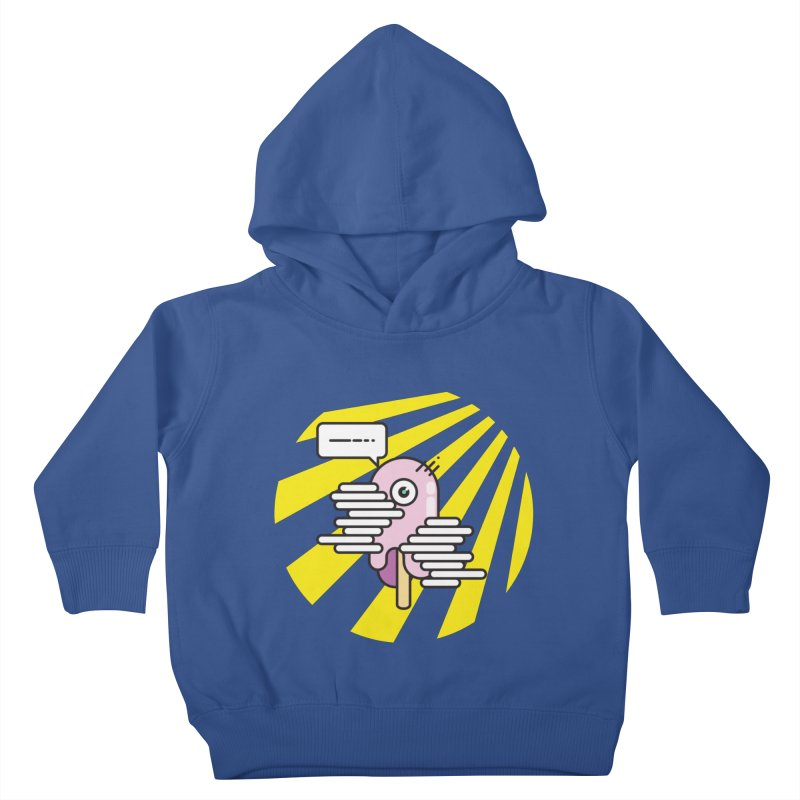 Speechless Melting Icycle Kids Toddler Pullover Hoody by towch's Artist Shop