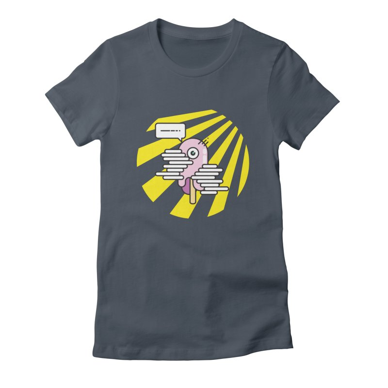 Speechless Melting Icycle Women's T-Shirt by towch's Artist Shop