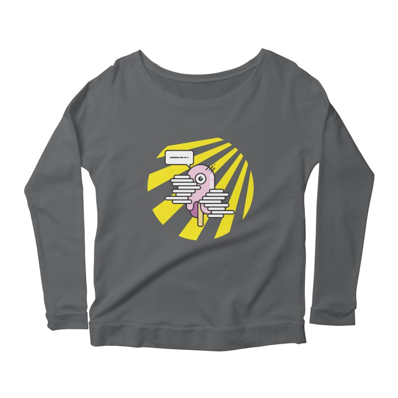 Speechless Melting Icycle Women's Longsleeve Scoopneck  by towch's Artist Shop