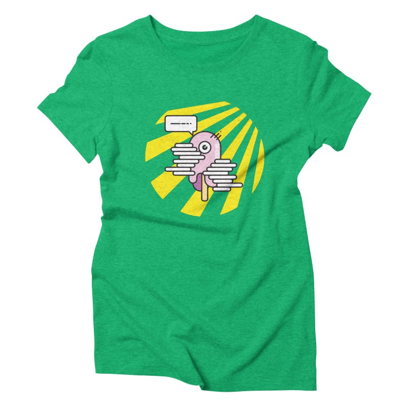 Speechless Melting Icycle Women's Triblend T-Shirt by towch's Artist Shop