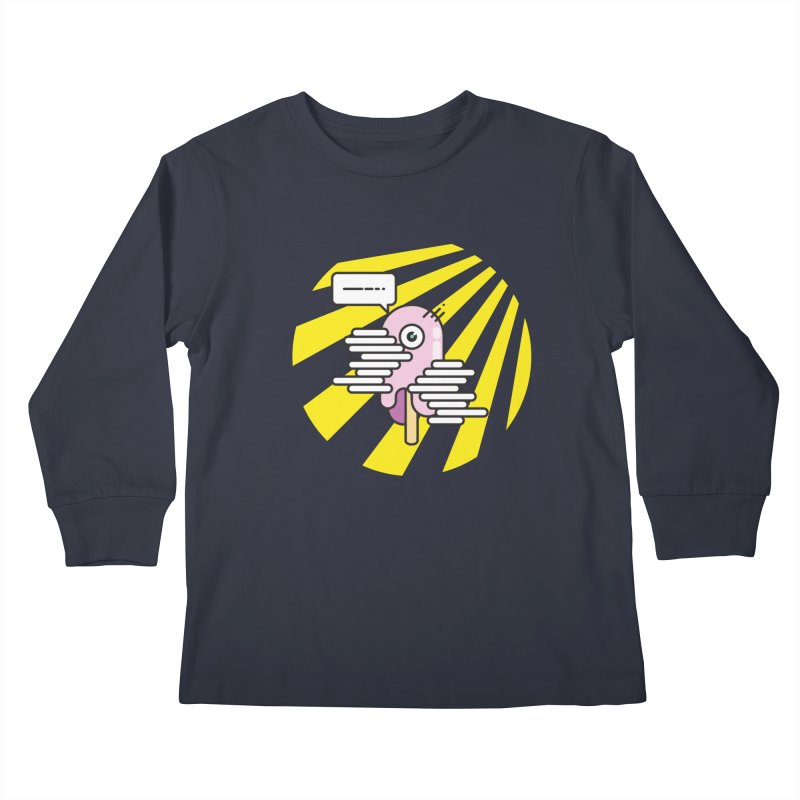 Speechless Melting Icycle Kids Longsleeve T-Shirt by towch's Artist Shop