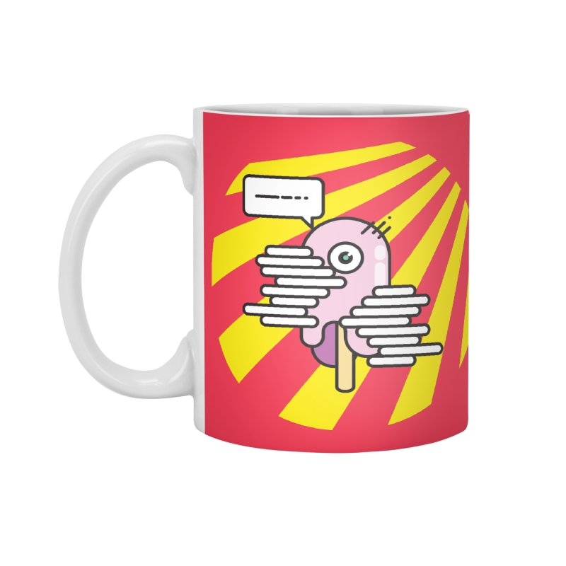 Speechless Melting Icycle Accessories Mug by towch's Artist Shop