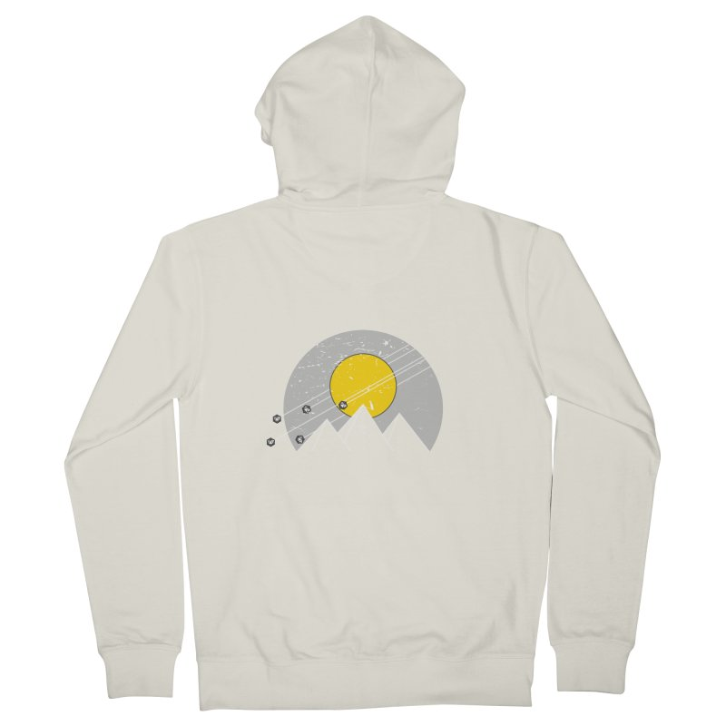 Pyramid Assault Women's French Terry Zip-Up Hoody by towch's Artist Shop