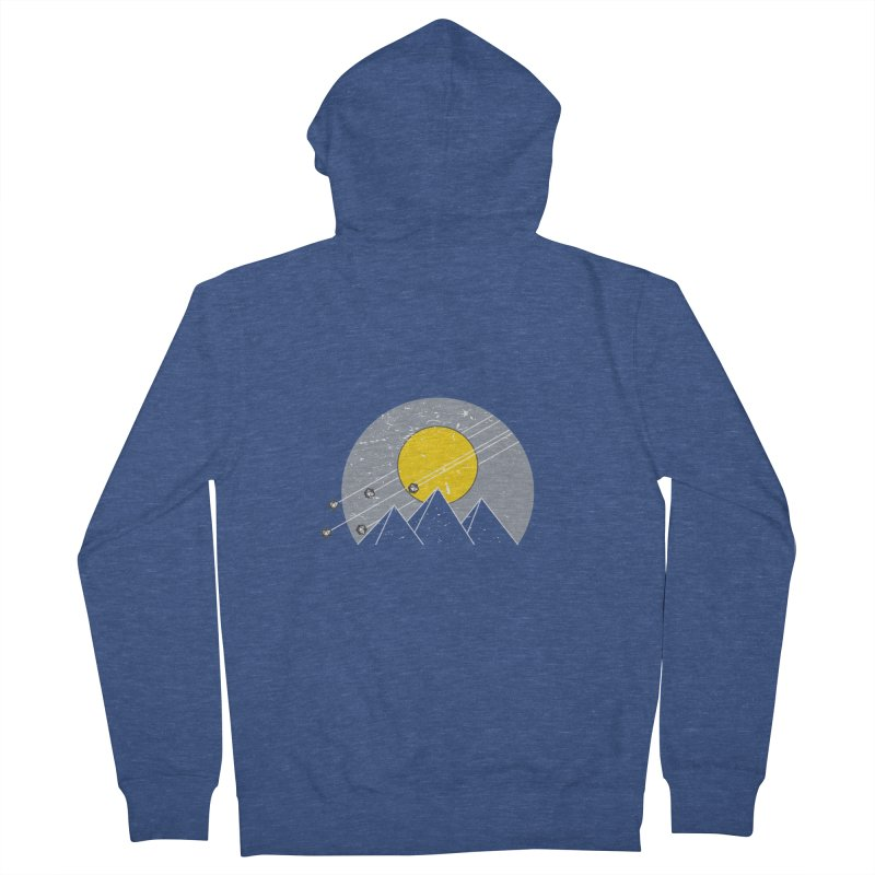 Pyramid Assault Men's French Terry Zip-Up Hoody by towch's Artist Shop