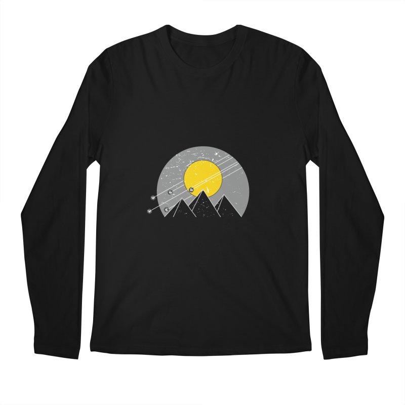 Pyramid Assault Men's Regular Longsleeve T-Shirt by towch's Artist Shop