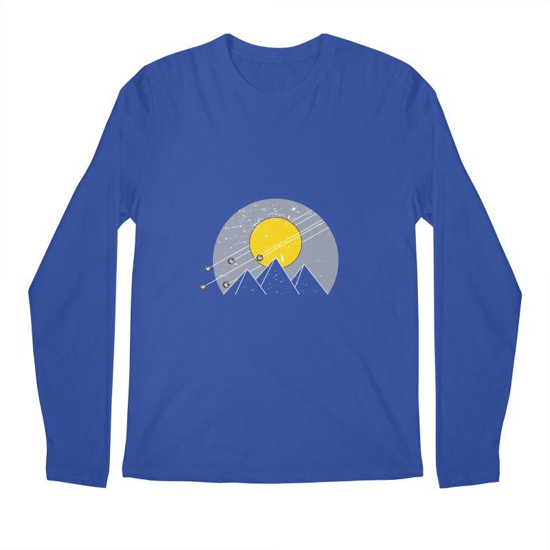 Pyramid Assault Men's Longsleeve T-Shirt by towch's Artist Shop