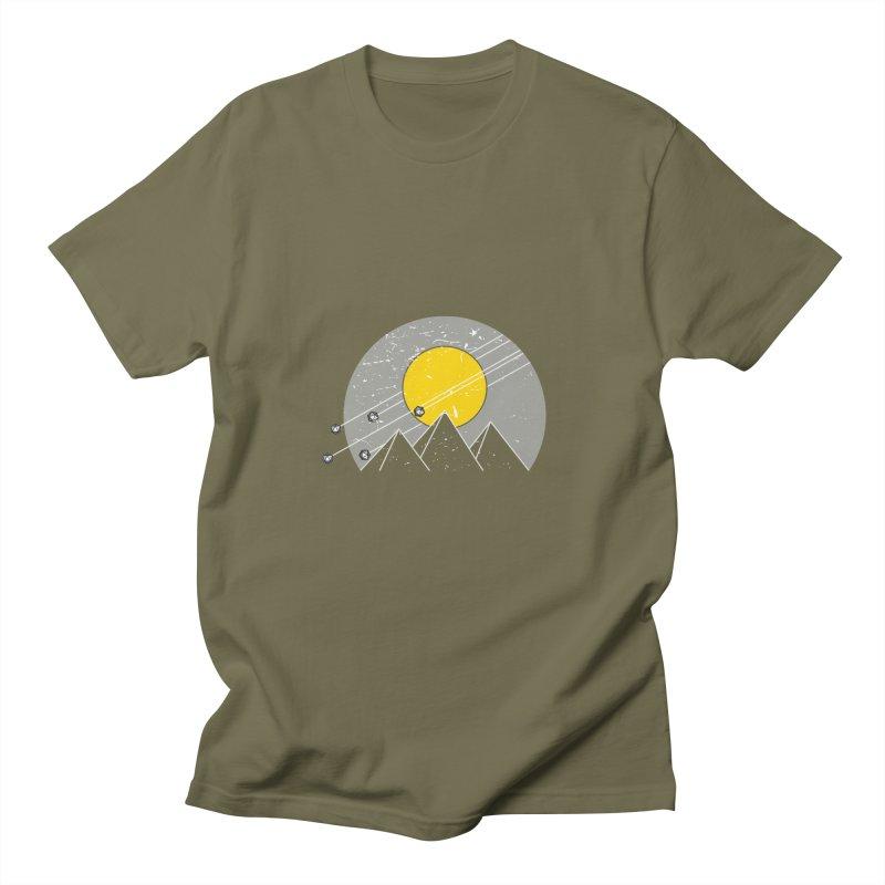 Pyramid Assault Men's T-Shirt by towch's Artist Shop