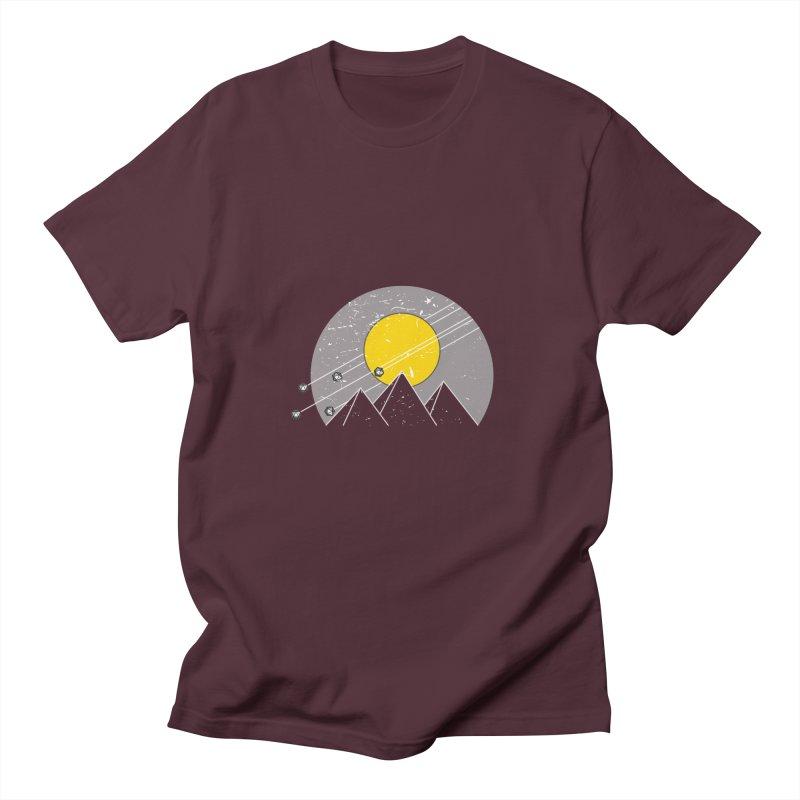 Pyramid Assault Men's Regular T-Shirt by towch's Artist Shop