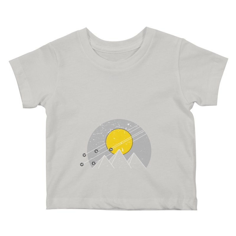 Pyramid Assault Kids Baby T-Shirt by towch's Artist Shop