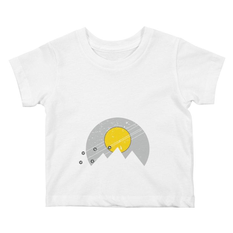 Pyramid Assault Kids Baby T-Shirt by towch's Artist Shop