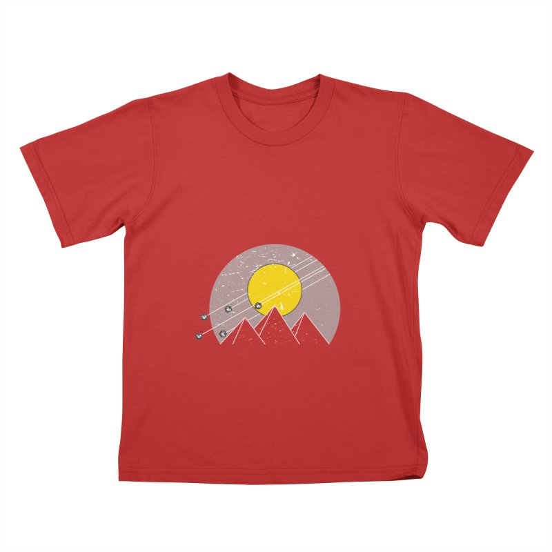 Pyramid Assault Kids T-Shirt by towch's Artist Shop
