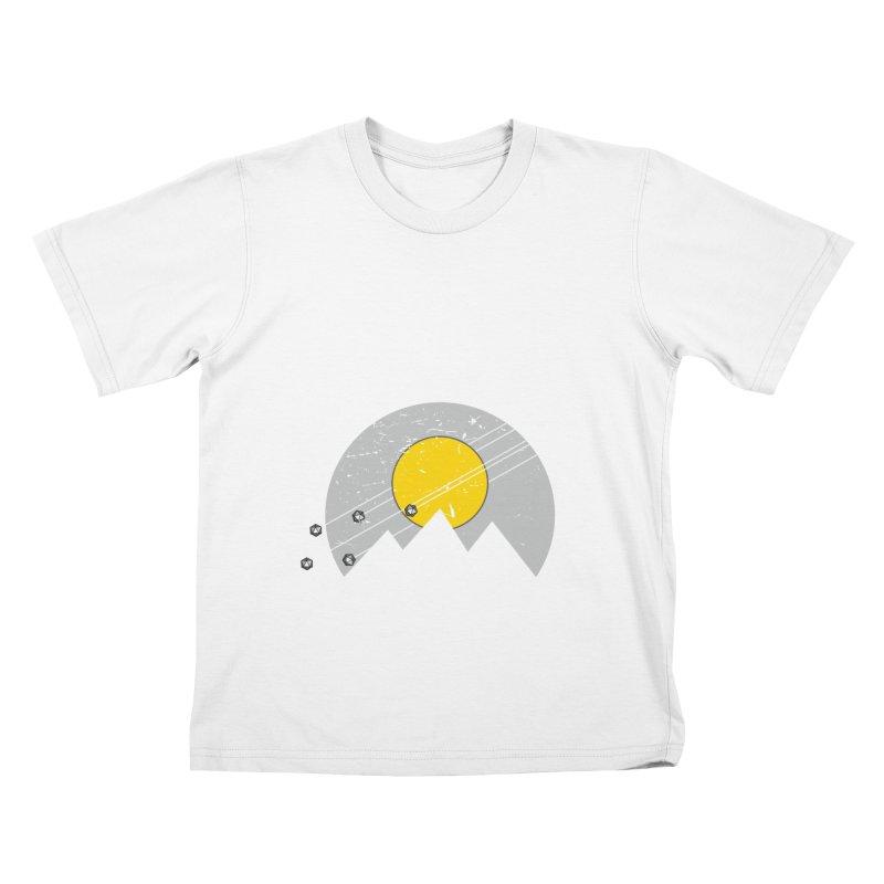 Pyramid Assault Kids T-Shirt by towch's Artist Shop