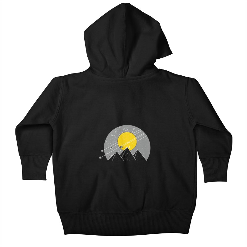 Pyramid Assault Kids Baby Zip-Up Hoody by towch's Artist Shop