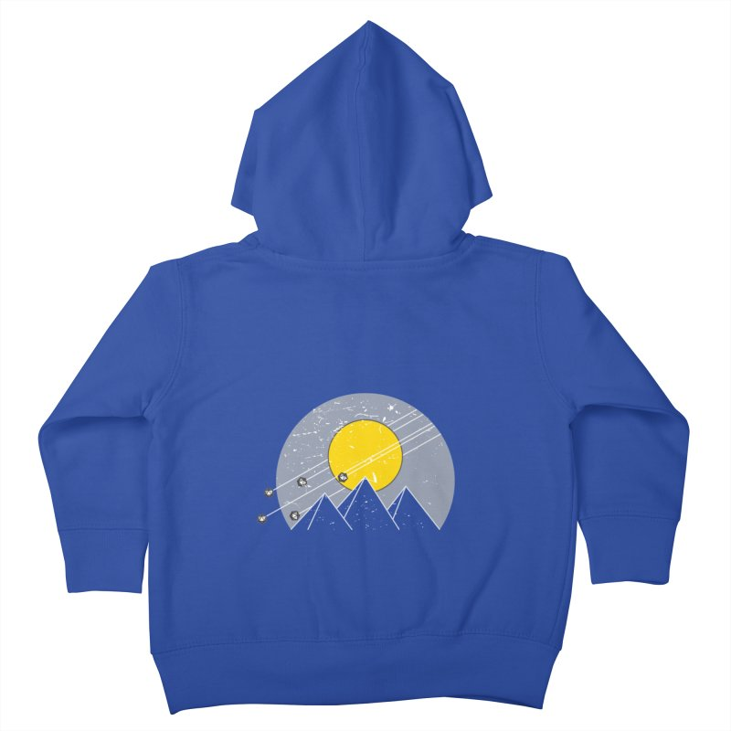 Pyramid Assault Kids Toddler Zip-Up Hoody by towch's Artist Shop