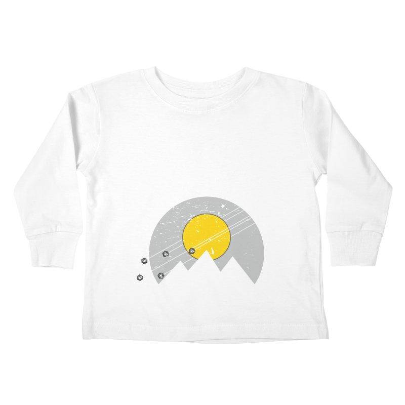 Pyramid Assault Kids Toddler Longsleeve T-Shirt by towch's Artist Shop