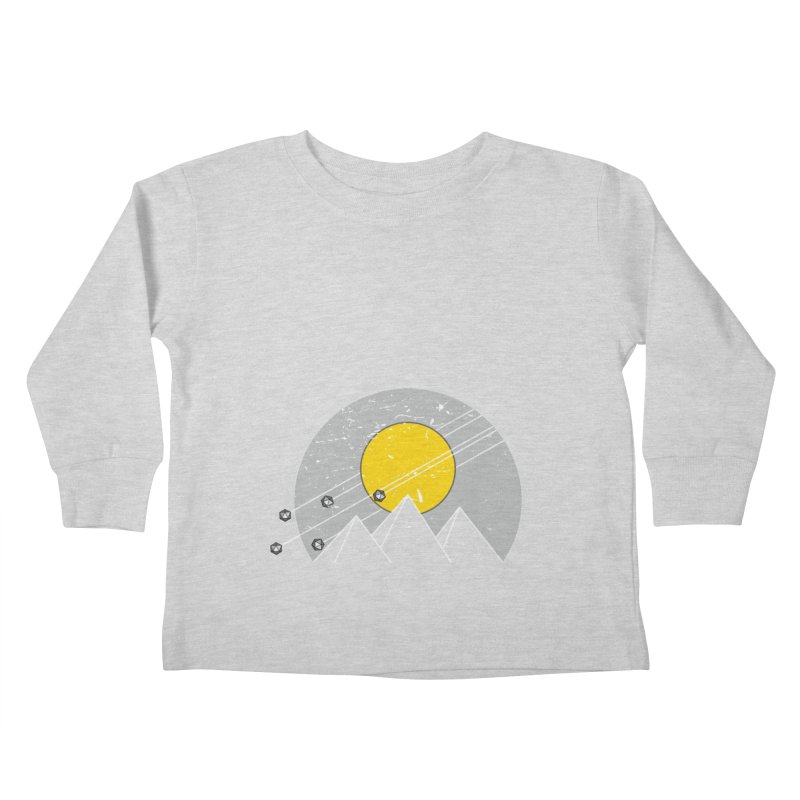 Pyramid Assault Kids Toddler Longsleeve T-Shirt by towch's Artist Shop