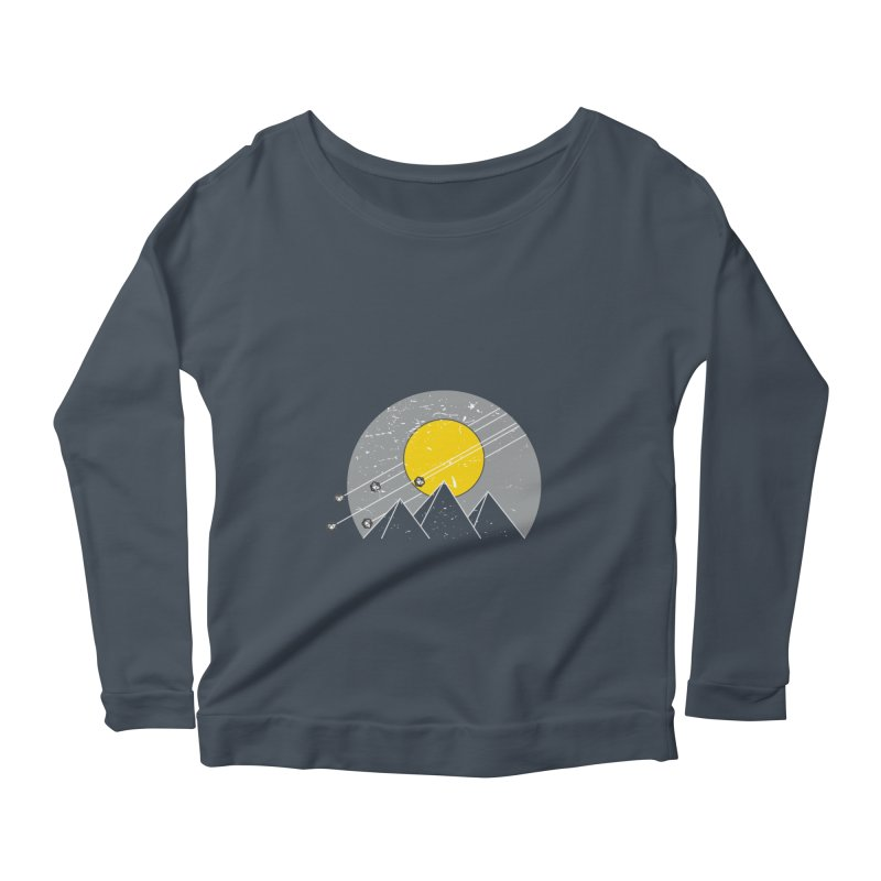 Pyramid Assault Women's Longsleeve Scoopneck  by towch's Artist Shop