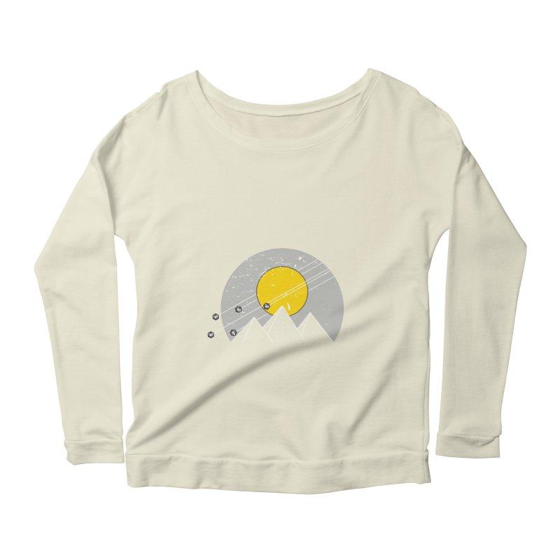 Pyramid Assault Women's Scoop Neck Longsleeve T-Shirt by towch's Artist Shop