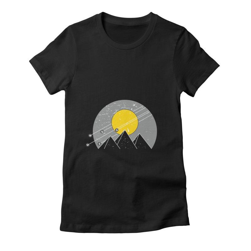 Pyramid Assault Women's Fitted T-Shirt by towch's Artist Shop
