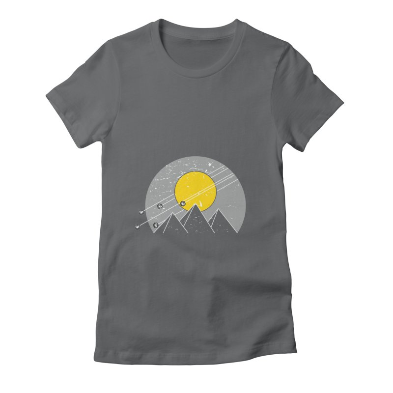 Pyramid Assault Women's Fitted T-Shirt by towch's Artist Shop
