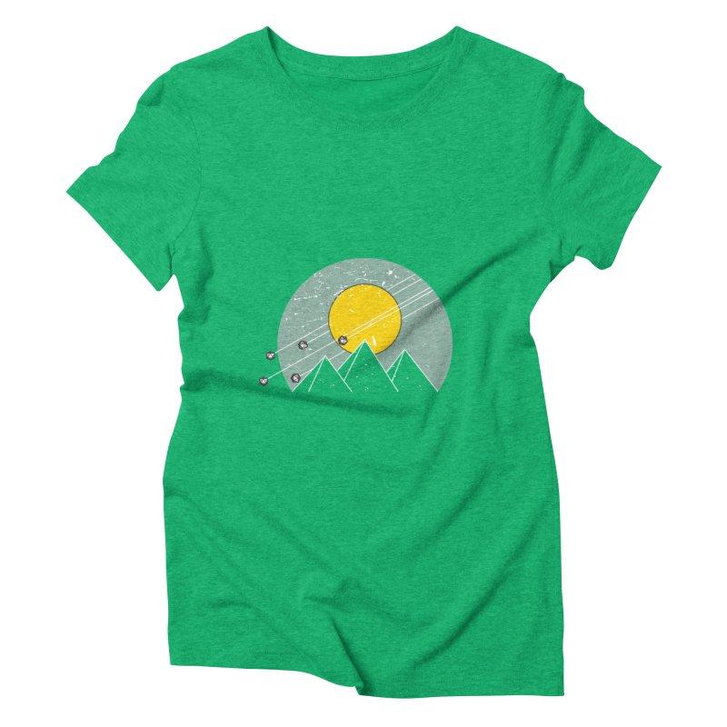 Pyramid Assault Women's Triblend T-Shirt by towch's Artist Shop