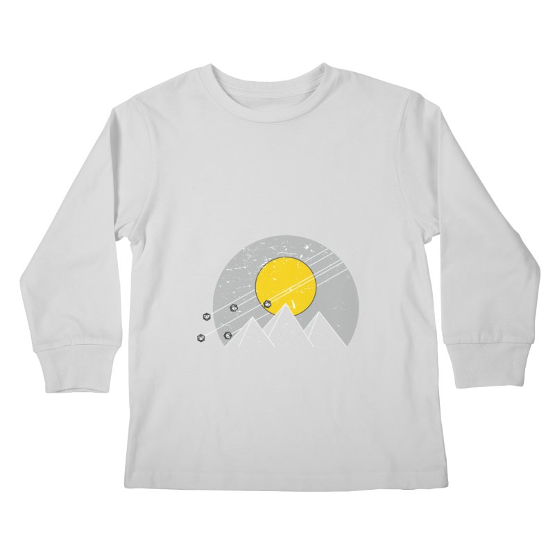 Pyramid Assault Kids Longsleeve T-Shirt by towch's Artist Shop