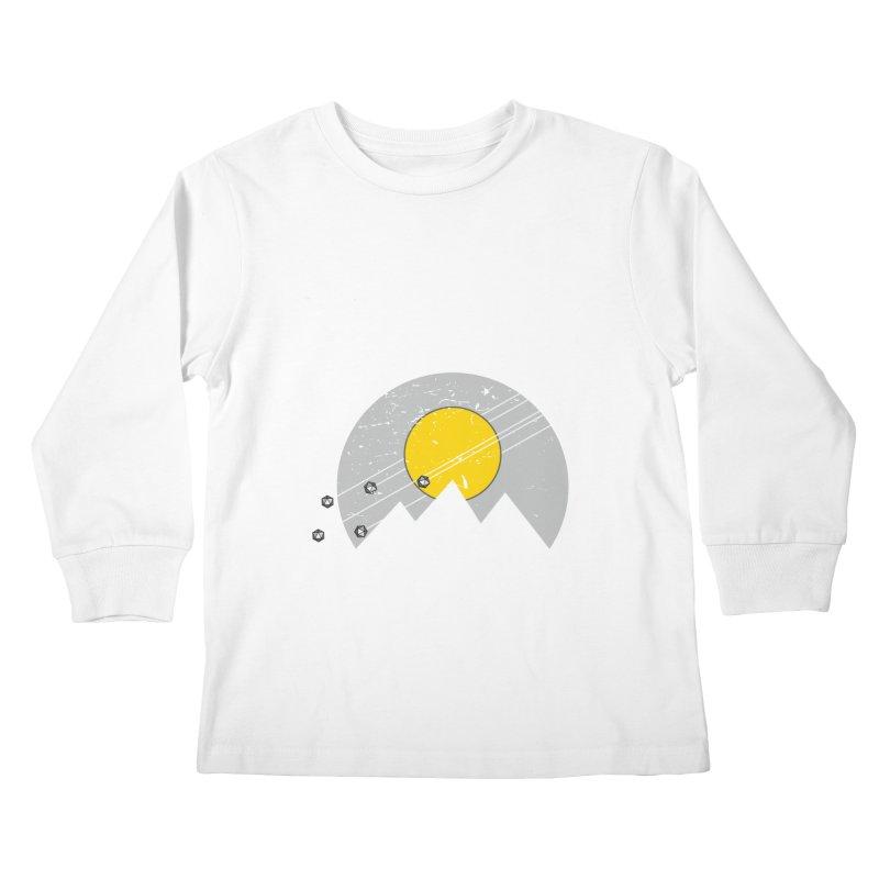 Pyramid Assault Kids Longsleeve T-Shirt by towch's Artist Shop