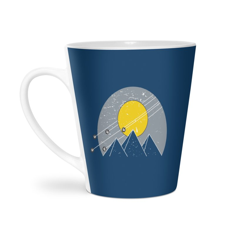 Pyramid Assault Accessories Latte Mug by towch's Artist Shop