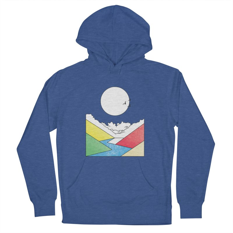 Sun & Valley Women's French Terry Pullover Hoody by towch's Artist Shop