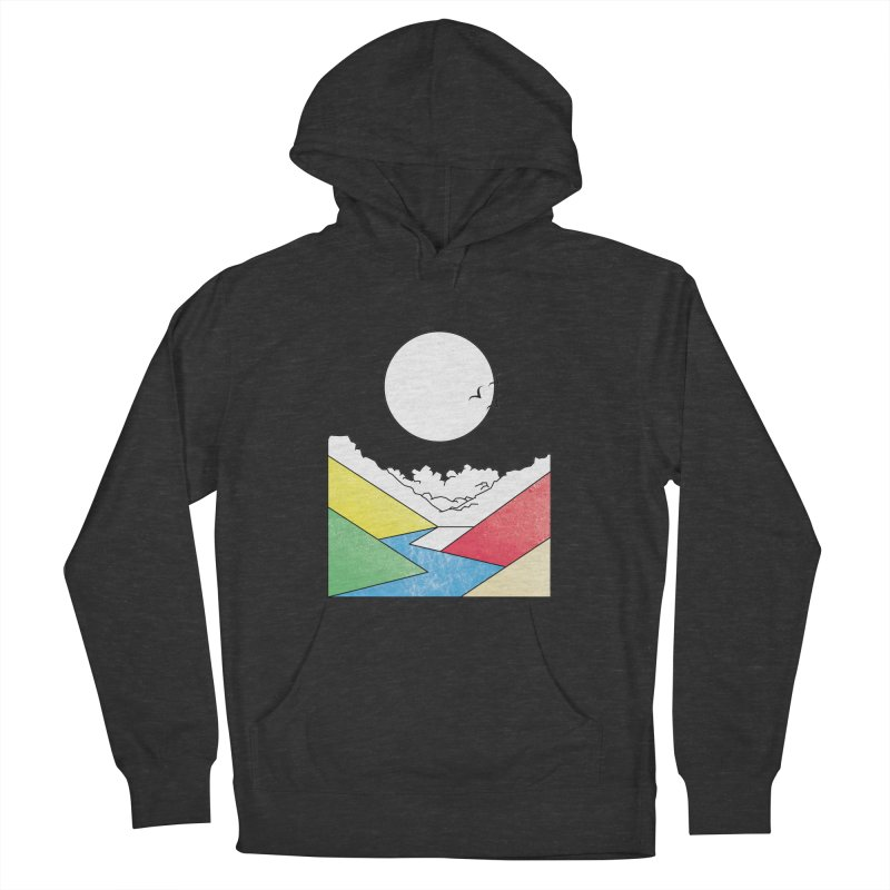 Sun & Valley Men's French Terry Pullover Hoody by towch's Artist Shop