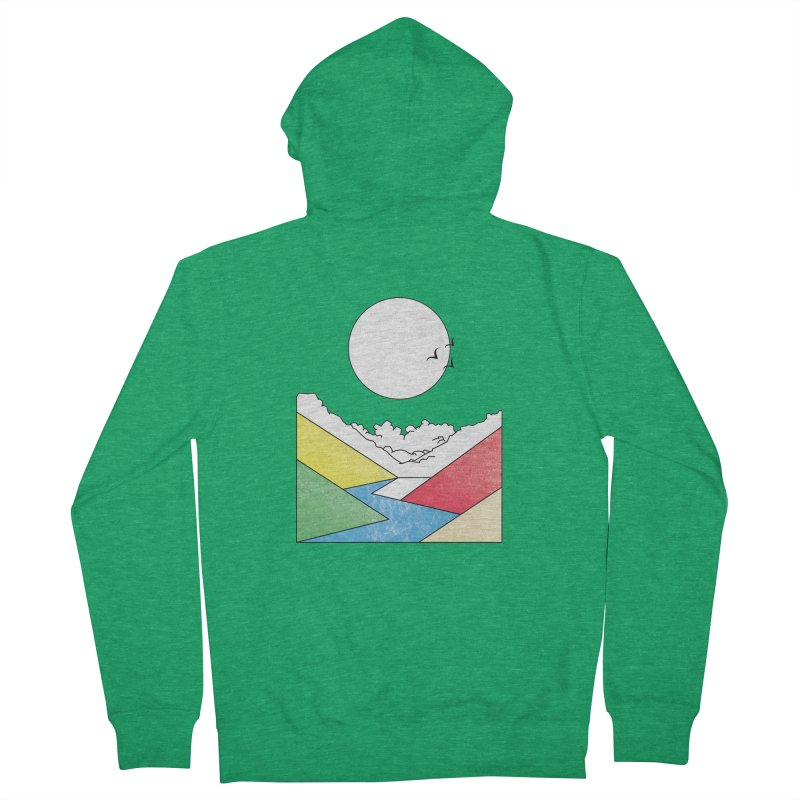 Sun & Valley Men's French Terry Zip-Up Hoody by towch's Artist Shop
