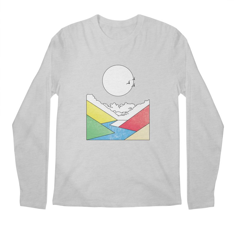 Sun & Valley Men's Regular Longsleeve T-Shirt by towch's Artist Shop