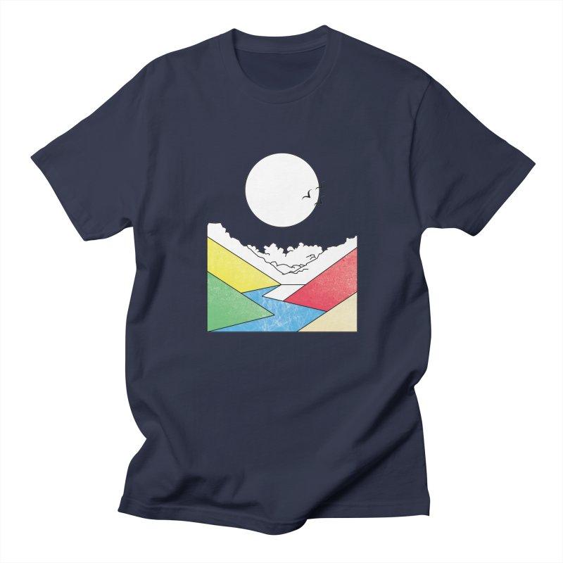 Sun & Valley Men's T-shirt by towch's Artist Shop