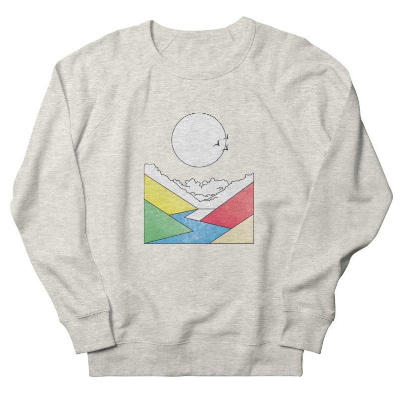 Sun & Valley Men's French Terry Sweatshirt by towch's Artist Shop