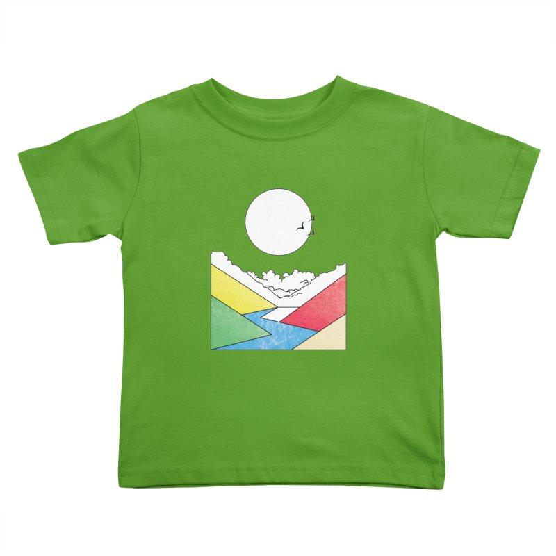 Sun & Valley Kids Toddler T-Shirt by towch's Artist Shop