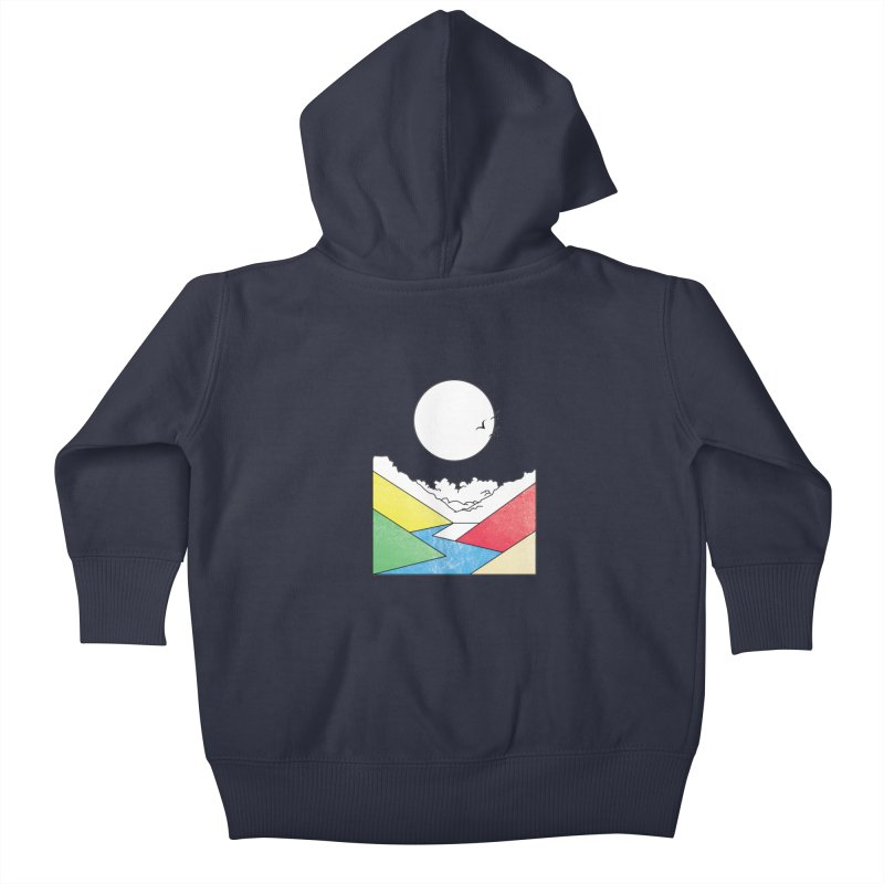 Sun & Valley Kids Baby Zip-Up Hoody by towch's Artist Shop