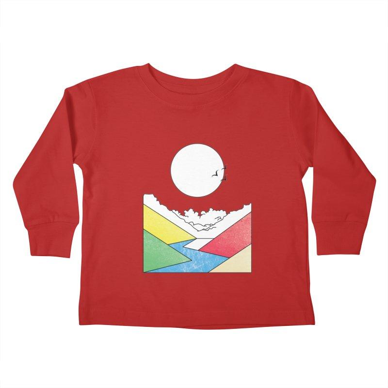 Sun & Valley Kids Toddler Longsleeve T-Shirt by towch's Artist Shop