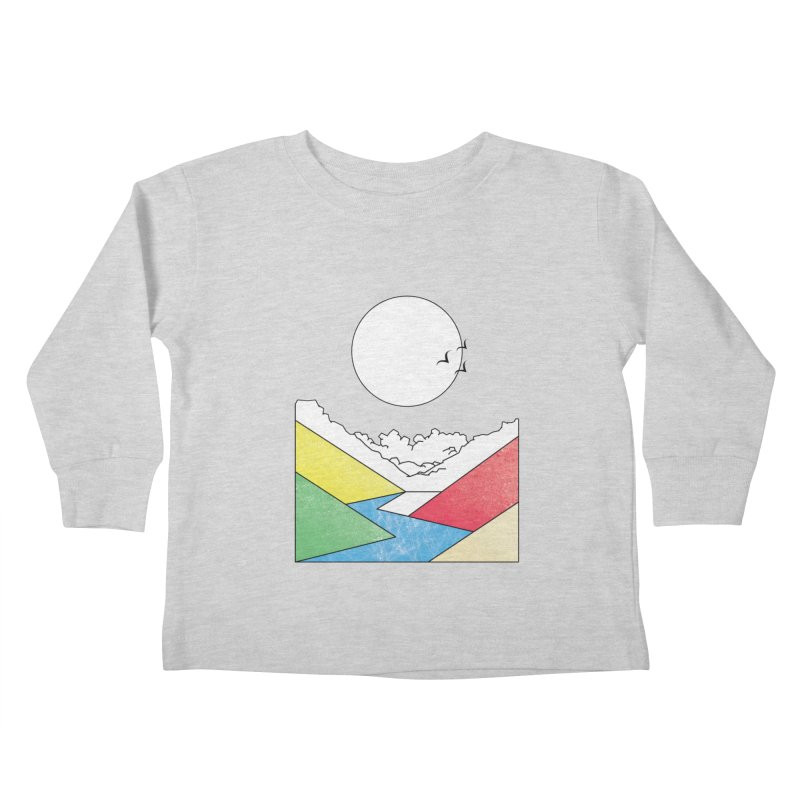 Sun & Valley Kids Toddler Longsleeve T-Shirt by towch's Artist Shop